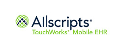 Allscripts, an EHR company that has multiple solutions. This one is Allscripts TouchWorks.